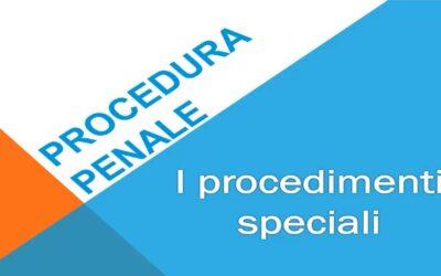 I procedimenti speciali